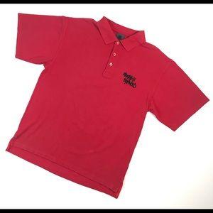 Vintage Shirts - VINTAGE TUPAC 2PAC SHIRT POLO LARGE L MAKAVELI RAP